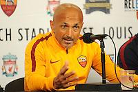 A.S. Roma press conference, July 31, 2016
