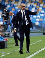 11th September 2021; Maradona Stadium, Naples, Italy; Serie A football, SSC Napoli versus Juventus  FC: Massimilano Allegri coach of Juventus