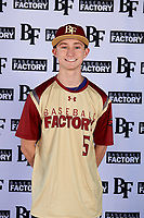 Zachary Fritts (5) of Lenoir City High School in Lenoir City, Tennessee during the Baseball Factory All-America Pre-Season Tournament, powered by Under Armour, on January 12, 2018 at Sloan Park Complex in Mesa, Arizona.  (Mike Janes/Four Seam Images)