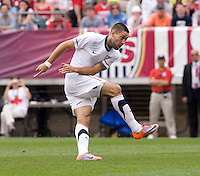 Clint Dempsey. The USMNT defeated Turkey, 2-1, at Lincoln Financial Field in Philadelphia, PA.