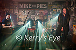 Mick Flannery on stage on the keybords accompanied by Yvonne Daly on vocals at Mike the Pies in Listowel on Thursday night.