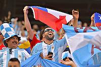 Photo before the match Argentina vs Chile corresponding to the Final of America Cup Centenary 2016, at MetLife Stadium.<br /> <br /> Foto previo al partido Argentina vs Chile cprresponidente a la Final de la Copa America Centenario USA 2016 en el Estadio MetLife , en la foto:Fans de Argentina<br /> <br /> <br /> 26/06/2016/MEXSPORT/ISAAC ORTIZ