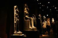 ITALIA - Torino - Museo Egizio  sala della statuaria