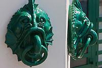 Europe/France/Aquitaine/64/Pyrénées-Atlantiques/Pays-Basque/Biarritz: Le Musée de la Mer est un bâtiment de style Art déco, accolé à la falaise du plateau de l'Atalaye, dont la construction remonte à 1933. Détail