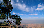 Jordan, a view of the Jordan Valley from Nabi Yusha&#xA;<br />