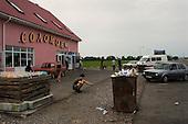 Chop, Ukraine.June 3, 2005 ..Life along the Hungarian-Ukrainian border from the Ukrainian side....
