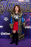 Vicky Larraz attends to Avengers Endgame premiere at Capitol cinema in Madrid, Spain. April 23, 2019. (ALTERPHOTOS/A. Perez Meca)