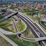 US I-71 MLK Drive Interchange Cincinnati