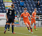 06.05.2019 Falkirk v Rangers reserves: Rhys Breen's header loops into the net and he celebrates