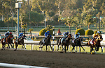 ARCADIA, CA  MARCH 6: The start of the Santa Anita Handicap (Grade l) on March 6, 2021 at Santa Anita Park in Arcadia, CA.   (Photo by Casey Phillips/EclipseSportswire/CSM)