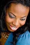 Portrait of smiling African American woman