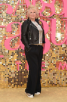 """Mandie Fletcher<br /> arrives for the World Premiere of """"Absolutely Fabulous: The Movie"""" at the Odeon Leicester Square, London.<br /> <br /> <br /> ©Ash Knotek  D3137  29/06/2016"""