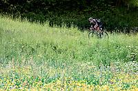 Martijn Tusveld (NED/DSM)<br /> <br /> 73rd Critérium du Dauphiné 2021 (2.UWT)<br /> Stage 8 (Final) from La Léchère-Les-Bains to Les Gets (147km)<br /> <br /> ©kramon