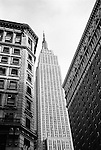 Empire State Building seen from Herald Square, New York City, USA