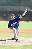Kasey Kiker - Texas Rangers - 2010 Instructional League.Photo by:  Bill Mitchell/Four Seam Images..