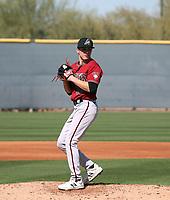 Drey Jamison - Arizona Diamondbacks 2020 spring training (Bill Mitchell)