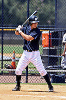 August 24, 2009: Catcher J.R. Murphy of the GCL Yankees at bat during a game at Yankees Training Complex in Tampa, FL.  Heathcott was selected in the 1st round (29th overall) of the 2009 MLB Draft.  The GCL Yankees are the Gulf Coast Rookie League affiliate of the New York Yankees.  Photo By Mark LoMoglio/Four Seam Images