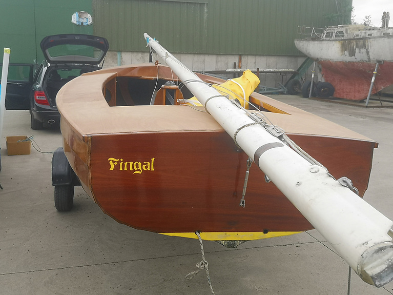 National 18 Fingal 226 -  when built she was revolutionary in their lightness and stiffness