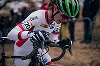 Marianne Vos (NED/Waow Deals)<br /> <br /> women's race<br /> CX World Cup Koksijde 2018