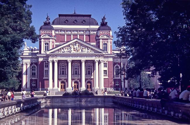 Ivan Vazov Theater, Summer