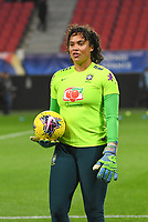 20200307  Valenciennes , France : Brazilian goalkeeper Natascha (24)  pictured during the female football game between the national teams of France and Brasil on the second matchday of the Tournoi de France 2020 , a prestigious friendly womensoccer tournament in Northern France , on Saturday 7 th March 2020 in Valenciennes , France . PHOTO SPORTPIX.BE | DIRK VUYLSTEKE