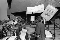 Greve des charges de cours de l'UQAM, 23 Mars 1987.