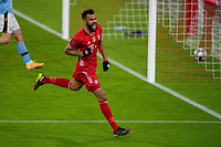 Tor zum 2:0 Eric Maxim Choupo-Mouting FC Bayern Muenchen, 13, GER, FC Bayern Muechen vs. Lazio Rom, Fussball, Champions League, Achtelfinale, Rueckspiel, Saison 2020/2021, 17.03.2021, DFB/DFL regulations prohibit any use of photographs as image sequences and/or quasi-video., GER, FC Bayern Muechen vs. Lazio Rom, Fussball, Champions League, Achtelfinale, Rueckspiel, Saison 2020/2021, 17.03.2021 Muenchen *** Goal for 2 0 Eric Maxim Choupo Mouting FC Bayern Muenchen, 13 , GER, FC Bayern Muechen vs Lazio Rom, Football, Champions League, Round of 16, Second leg, Season 2020 2021, 17 03 2021, DFB DFL regulations prohibit any use of photographs as image sequences and or quasi video , GER, FC Bayern Muechen vs Lazio Rom, Football, Champions League, Round of 16, Second leg, Season 2020 2021, 17 03 2021 Muenchen Copyright: xEIBNER/SaschaxWaltherx EP_EER<br /> Monaco 17/03/2021 <br /> Football Uefa Champions League 2020/2021 Round of 16 Leg 2<br /> Bayern Monaco - SS Lazio<br /> Photo Imago/Insidefoto <br /> ITALY ONLY