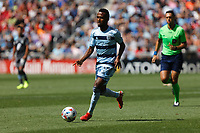 ST. PAUL, MN - AUGUST 21: Gadi Kinda #17 of Sporting Kansas City with the ball during a game between Sporting Kansas City and Minnesota United FC at Allianz Field on August 21, 2021 in St. Paul, Minnesota.