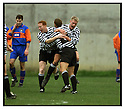22nd Oct 99                          Copyright Pic : James Stewart .Ref :                           .File Name : stewart11-shire v queens park                        .SHIRE'S STEVEN LAIDLAW (CENTRE) IS CONGRATULATED BY DAVID MUIRHEAD (LEFT) AND BROWN FERGUSON (RIGHT) AFTER OPENING THE SCORING........Payments to :-.James Stewart Photo Agency, Stewart House, Stewart Road, Falkirk. FK2 7AS      Vat Reg No. 607 6932 25.Office : +44 (0) 1324 630007        Mobile : 07721 416997.Fax     : +44 (0) 1324 630007.E-mail : jim@jspa.co.uk.If you require further information then contact Jim Stewart on any of the numbers above.........