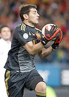Spain's national team Iker Casillas during match. October 16, 2012. (ALTERPHOTOS/Alvaro Hernandez) /NORTEPhoto