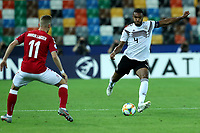 Jacob Bruun Larsen of Denmark , Jonathan Tah of Germany <br /> Udine 17-06-2019 Stadio Friuli <br /> Football UEFA Under 21 Championship Italy 2019<br /> Group Stage - Final Tournament Group A<br /> Germany - Denmark  <br /> Photo Cesare Purini / Insidefoto