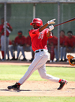 PJ Phillips / Los Angeles Angels 2008 Instructional League..Photo by:  Bill Mitchell/Four Seam Images