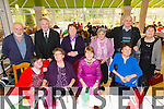Breda Dwyer, Mary Millward, Breda Byrne, Rose, Niamh and Barry Dowling, Patsy Dalton, Kathleen Houlihan, Maureen O'Leary, Michael O'Hanlon enjoying the Irish Wheelchair Association Christmas Party at the Earl of Desmond Hotel on Sunday