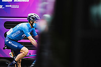 Dario Cataldo (ITA/Movistar) pre stage <br /> <br /> Stage 9 from Pau to Laruns 153km<br /> 107th Tour de France 2020 (2.UWT)<br /> (the 'postponed edition' held in september)<br /> ©kramon