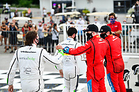 #33 Bryan Herta Autosport w/ Curb Agajanian Hyundai Veloster N TCR, TCR: Gabby Chaves, Ryan Norman, #29 Bryan Herta Autosport w/ Curb Agajanian Hyundai Veloster N TCR, TCR: Parker Chase, Spencer Brockman