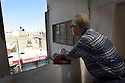 TRAUMA HEALING CASE STUDIES, ZARQA, JORDAN. FROMER PROFESSIONAL FOOTBALLER DIBO TURK, 60, SYRIA IN HIS NEW HOME IN ZARQA.  20/04016. PHOTO CLARE KENDALL.
