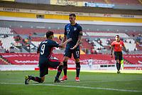 GUADALAJARA, MEXICO - MARCH 18: Jesus Ferreira #9 of the United States celebrates his goal during a game between Costa Rica and USMNT U-23 at Estadio Jalisco on March 18, 2021 in Guadalajara, Mexico.