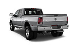 Car pictures of rear three quarter view of 2017 Ram 3500 Big Horn 4 Door Pick Up angular rear