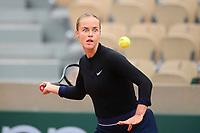 27th September 2020, Roland Garros, Paris, France; French Open tennis, Roland Garros 2020; Anna Karolina Schmiedlova (svk)