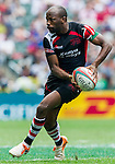 Kenya vs Portugal during the HSBC Sevens Wold Series Shield Semi Finals match as part of the Cathay Pacific / HSBC Hong Kong Sevens at the Hong Kong Stadium on 29 March 2015 in Hong Kong, China. Photo by Juan Manuel Serrano / Power Sport Images