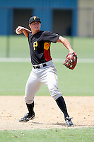 July 13, 2009:  Walker Gourley of the GCL Pirates during a game at Tiger Town in Lakeland, FL.  Gourley was taken in the thirteenth (13th) round of the 2009 MLB draft.  The GCL Pirates are the Gulf Coast Rookie League affiliate of the Pittsburgh Pirates.  Photo By Mike Janes/Four Seam Images