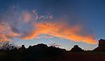 Twilight in Big Park, near Sedona, Arizona