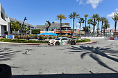 2017 IMSA WeatherTech SportsCar Championship<br /> BUBBA burger Sports Car Grand Prix at Long Beach<br /> Streets of Long Beach, CA USA<br /> Saturday 8 April 2017<br /> 93, Acura, Acura NSX, GTD, Andy Lally, Katherine Legge<br /> World Copyright: Richard Dole/LAT Images<br /> ref: Digital Image RD_LB17_314