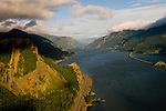 Aerial View of the Columbia River Gorge