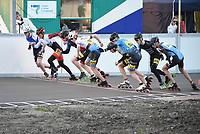 INLINESKATEN: ROTTERDAM: 07-05-2021, Sportpark Noordrand, KNSB Topsport inlineskatewedstrijden, ©foto Martin de Jong