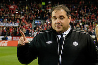 Toronto, ON, Canada - Saturday Dec. 10, 2016: Canada Soccer President Victor Montagliani prior to the MLS Cup finals at BMO Field. The Seattle Sounders FC defeated Toronto FC on penalty kicks after playing a scoreless game.