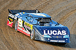 Aug 5, 2010; 6:34:33 PM; New Richmond, WI., USA; The 23rd Annual USA Nationals presented by U.S. Steel Corporation running a 50,000-to-win World of Outlaws Dirt Late Model Series sanctioned event at Cedar Lake Speedway.  Mandatory Credit: (thesportswire.net)