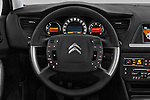 Car pictures of steering wheel view of a 2016 Citroen C5-Berline Business 4 Door Sedan Steering Wheel