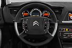 Car pictures of steering wheel view of a 2016 Citroen C5-Berline Business 4 Door Sedan Steering Wheel