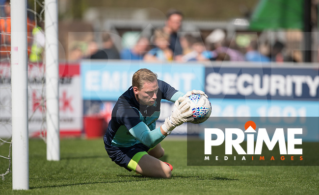 Goalkeeper Ryan Allsop of Wycombe Wanderers pre match during the Sky Bet League 1 match between Wycombe Wanderers and Luton Town at Adams Park, High Wycombe, England on 1 September 2018. Photo by Andy Rowland.
